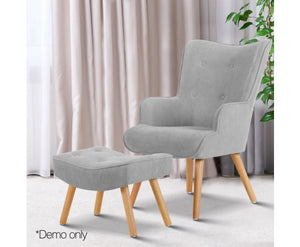 Armchair and Ottoman - Nextlevel Furniture Australia