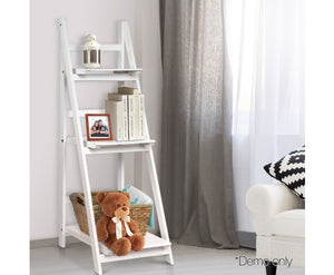 Artiss Wooden Ladder Storage Display Shelf