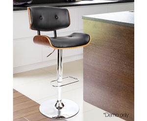 Wooden Height Adjustable Bar Stool - Nextlevel Furniture Australia