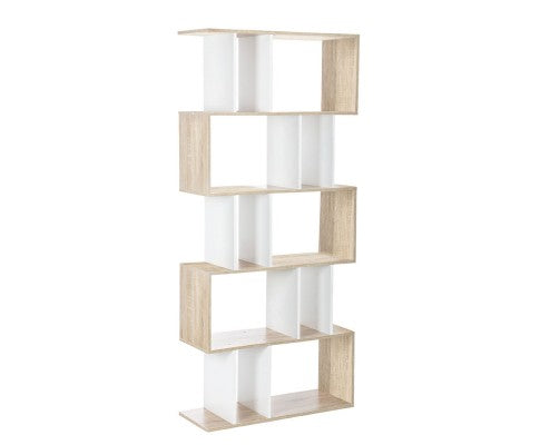 Artiss 5 Tier Display Book Storage Shelf Unit