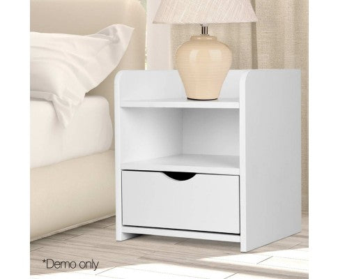 Artiss Bedside Table Drawer