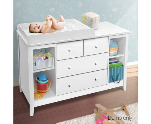 Artiss Change Table with Drawers