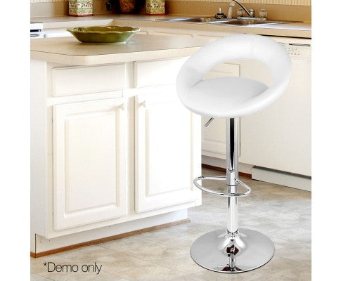 Set of 2 Vinyl  Bar Stool