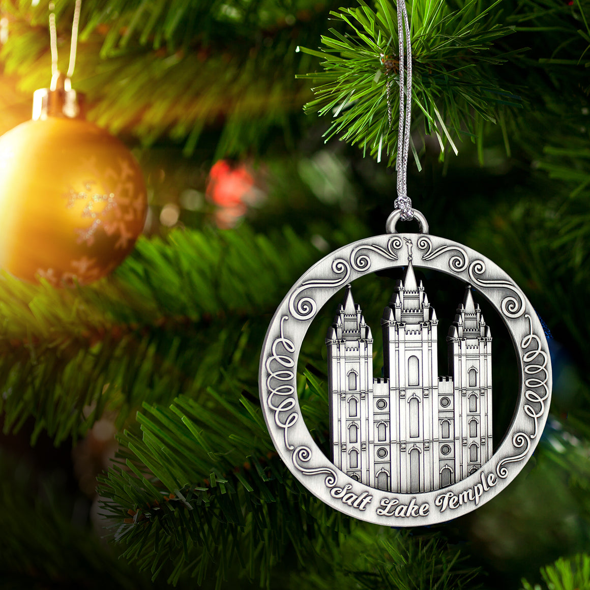 Salt Lake Utah Temple Ornament