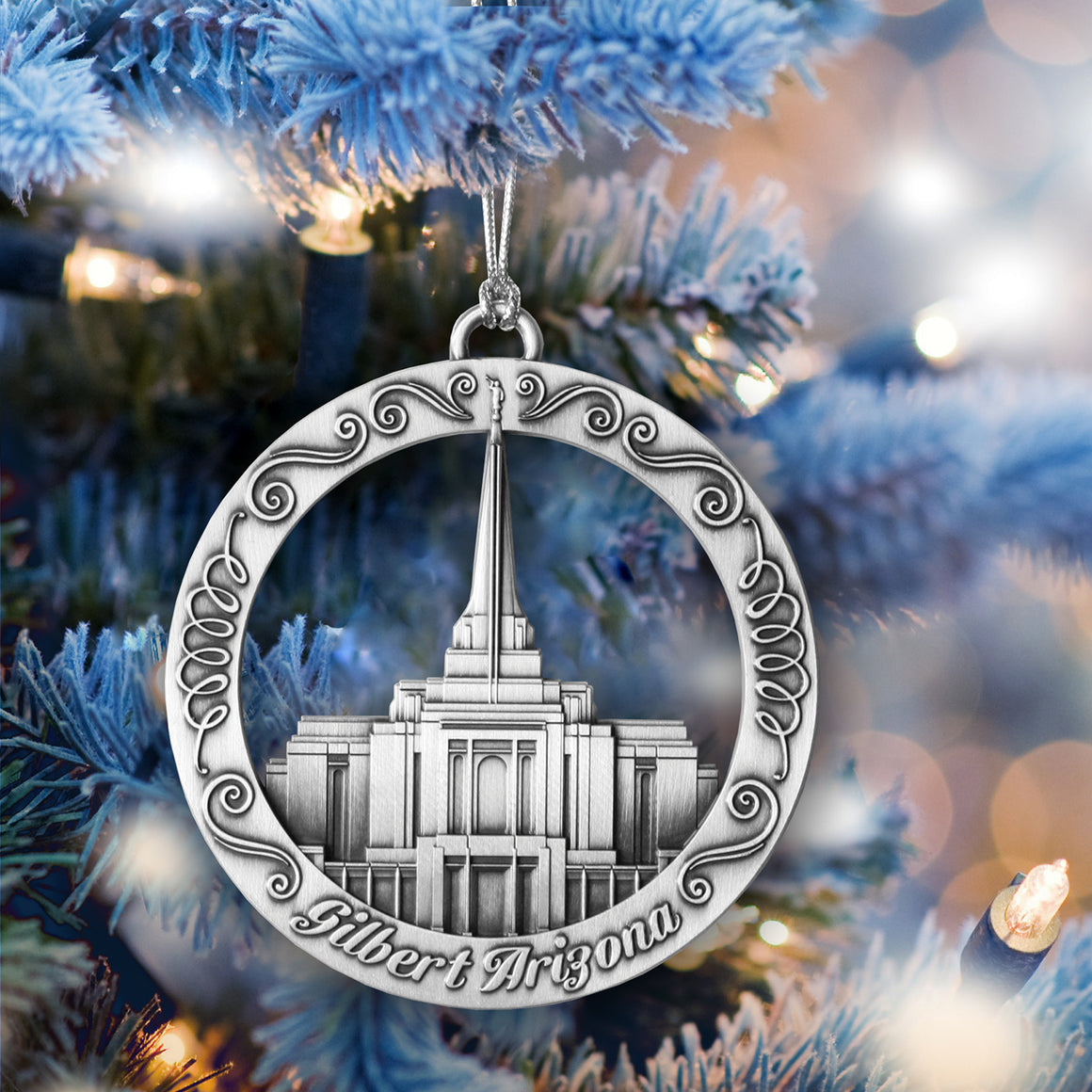 Gilbert Arizona Temple Ornament