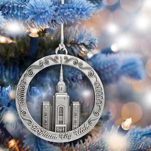 Brigham City Utah Temple Ornament
