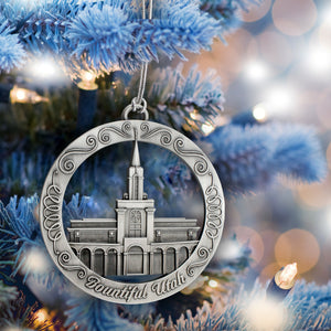 Bountiful Utah Temple Ornament