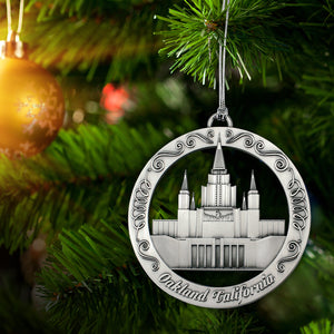Oakland California Temple Ornament