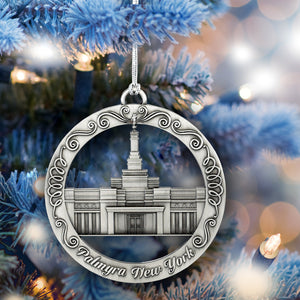 Palmyra New York Temple Ornament