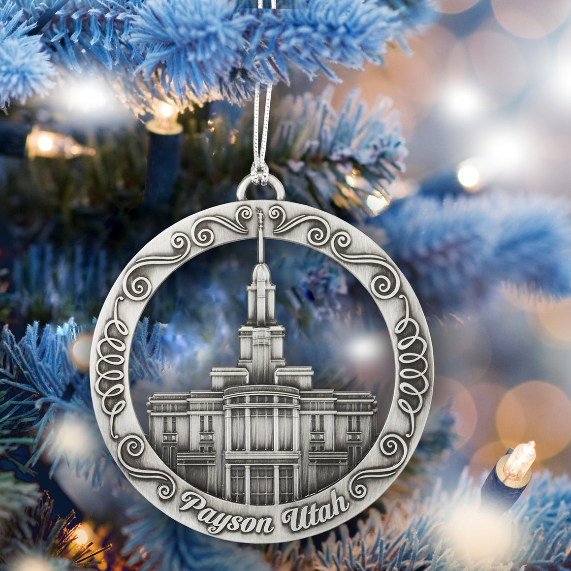 Payson Utah Temple Ornament