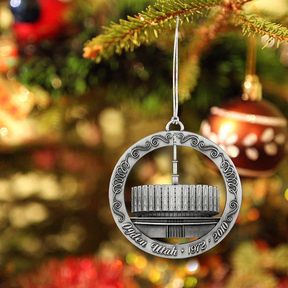 Original Ogden Utah Temple Ornament