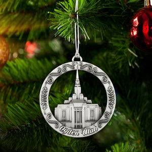 Ogden Utah Temple Ornament