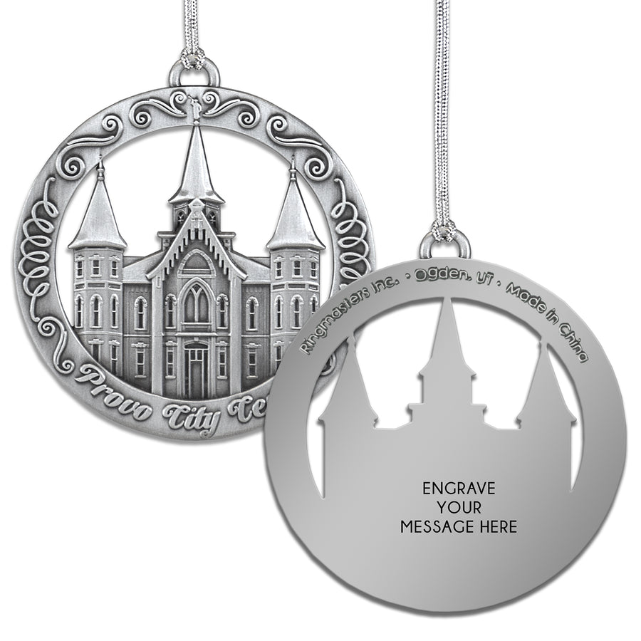 Provo City Center Utah Temple Ornament