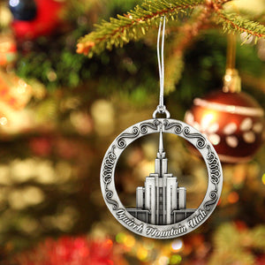 Oquirrh Mountain Utah Temple Ornament