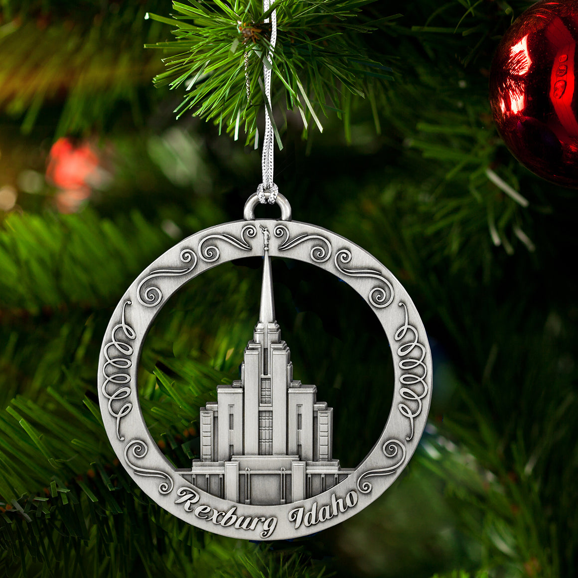 Rexburg Idaho Temple Ornament