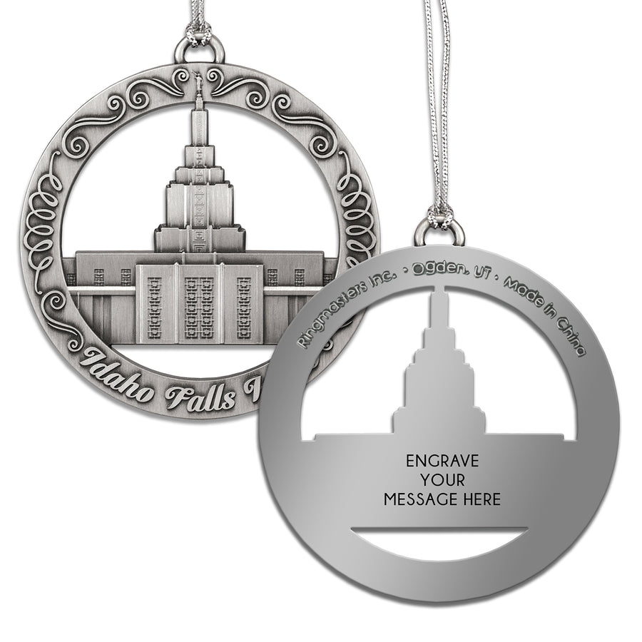 Idaho Falls Temple Ornament