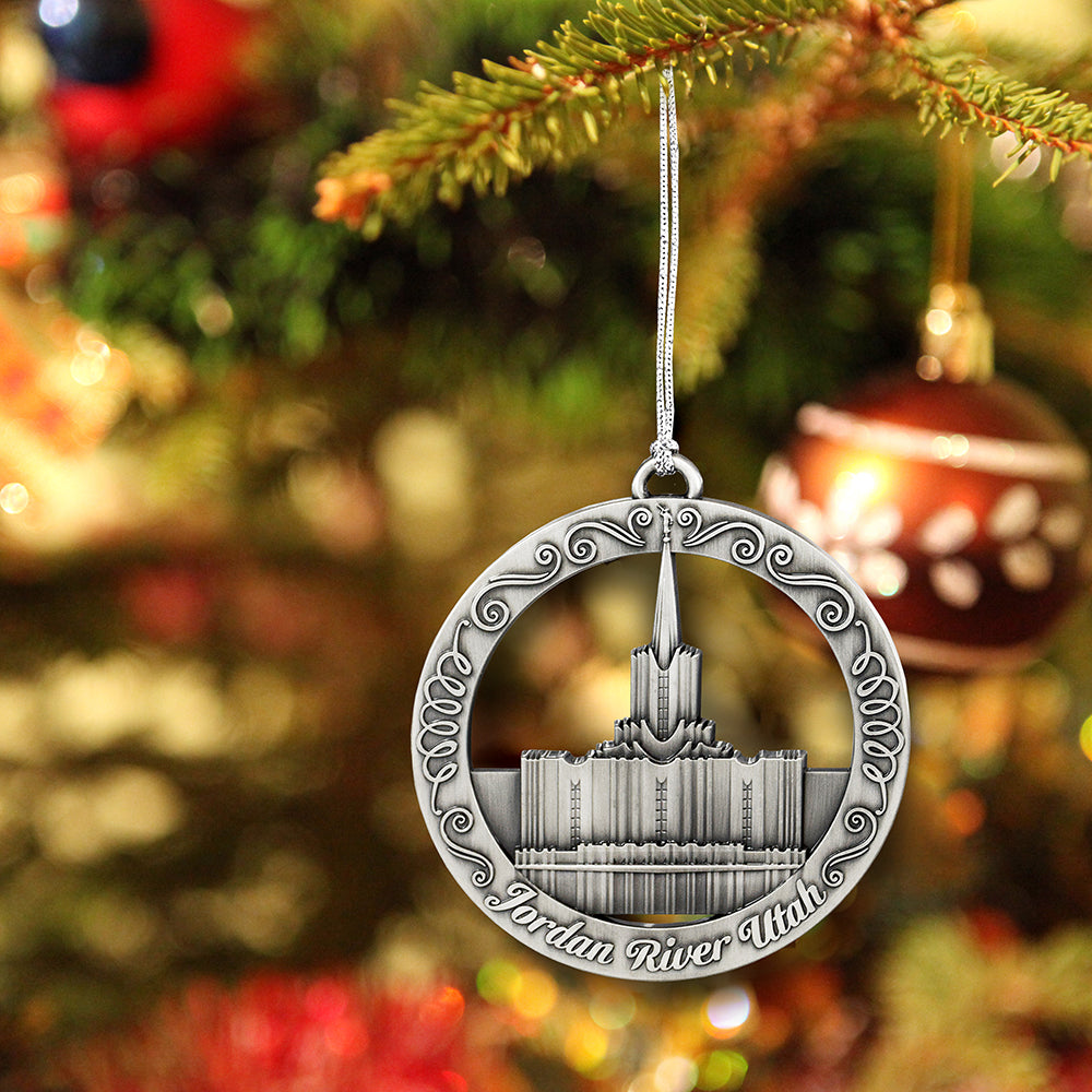 Jordan River Utah Temple Ornament