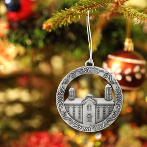 Vernal Utah Temple Ornament