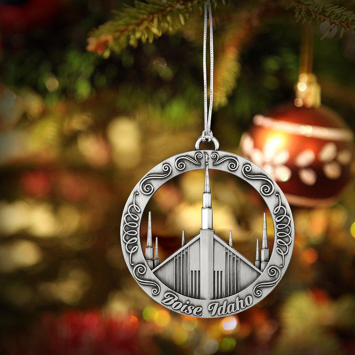 Boise Idaho Temple Ornament