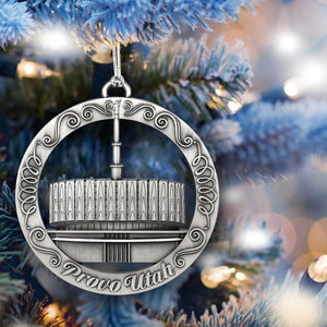 Provo Utah Temple Ornament