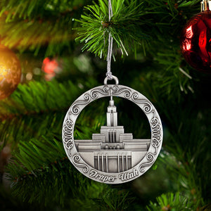 Draper Utah Temple Ornament