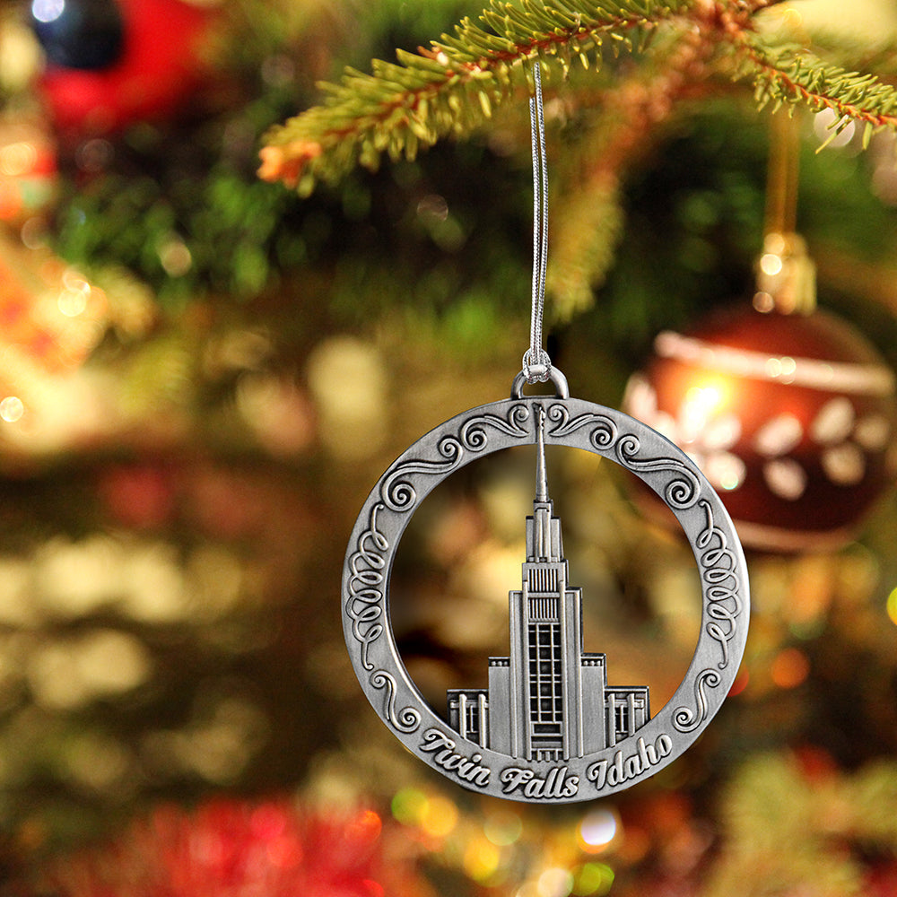 Twin Falls Idaho Temple Ornament