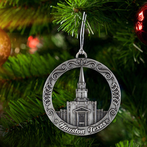 Houston Texas Temple Ornament