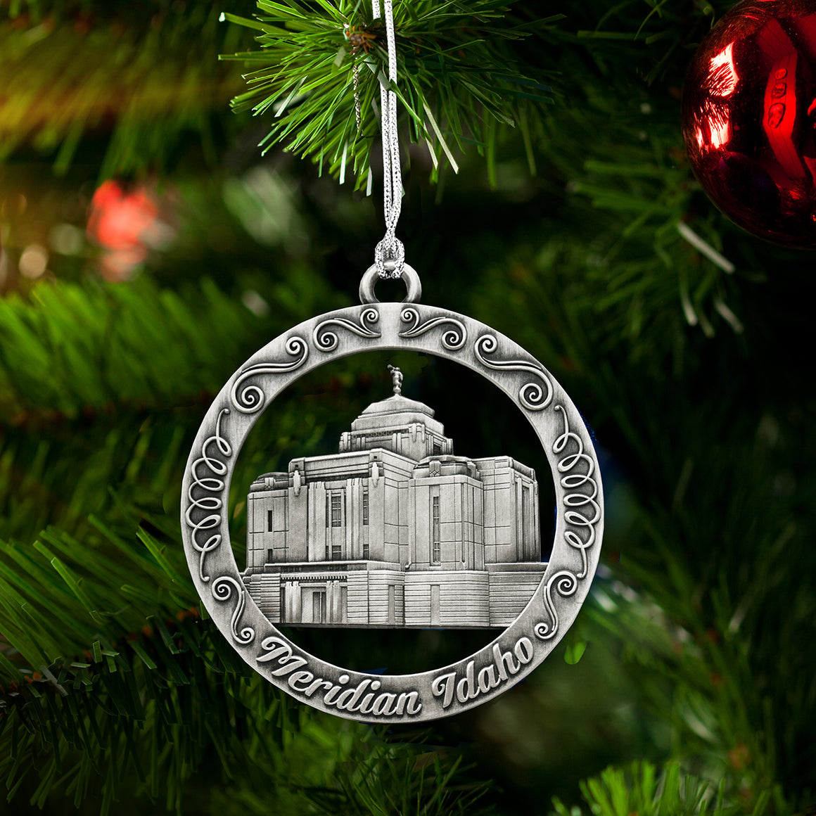 Meridian Idaho Temple Ornament
