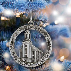 Cedar City Utah Temple Ornament