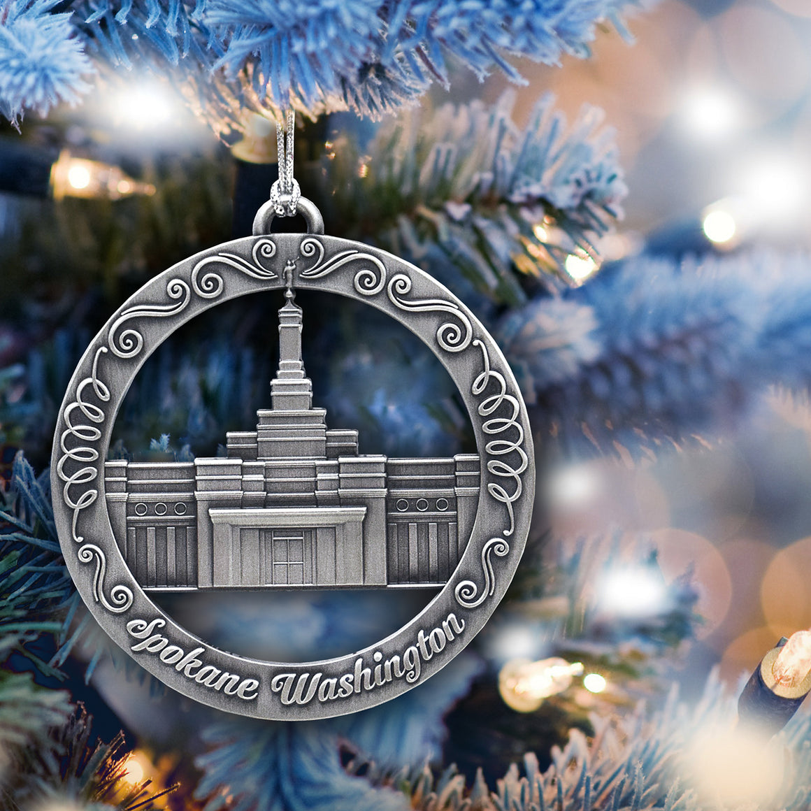Spokane Washington Temple Ornament