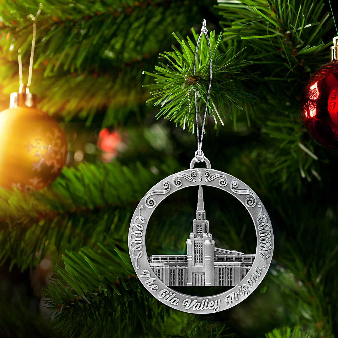 The Gila Valley Arizona Temple Ornament
