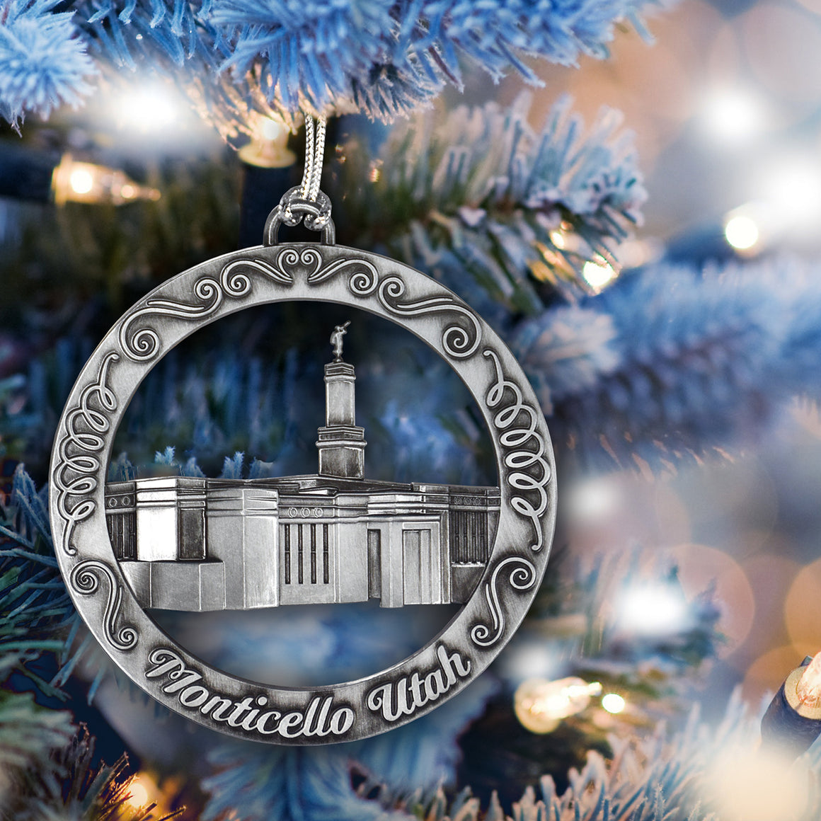 Monticello Utah Temple Ornament