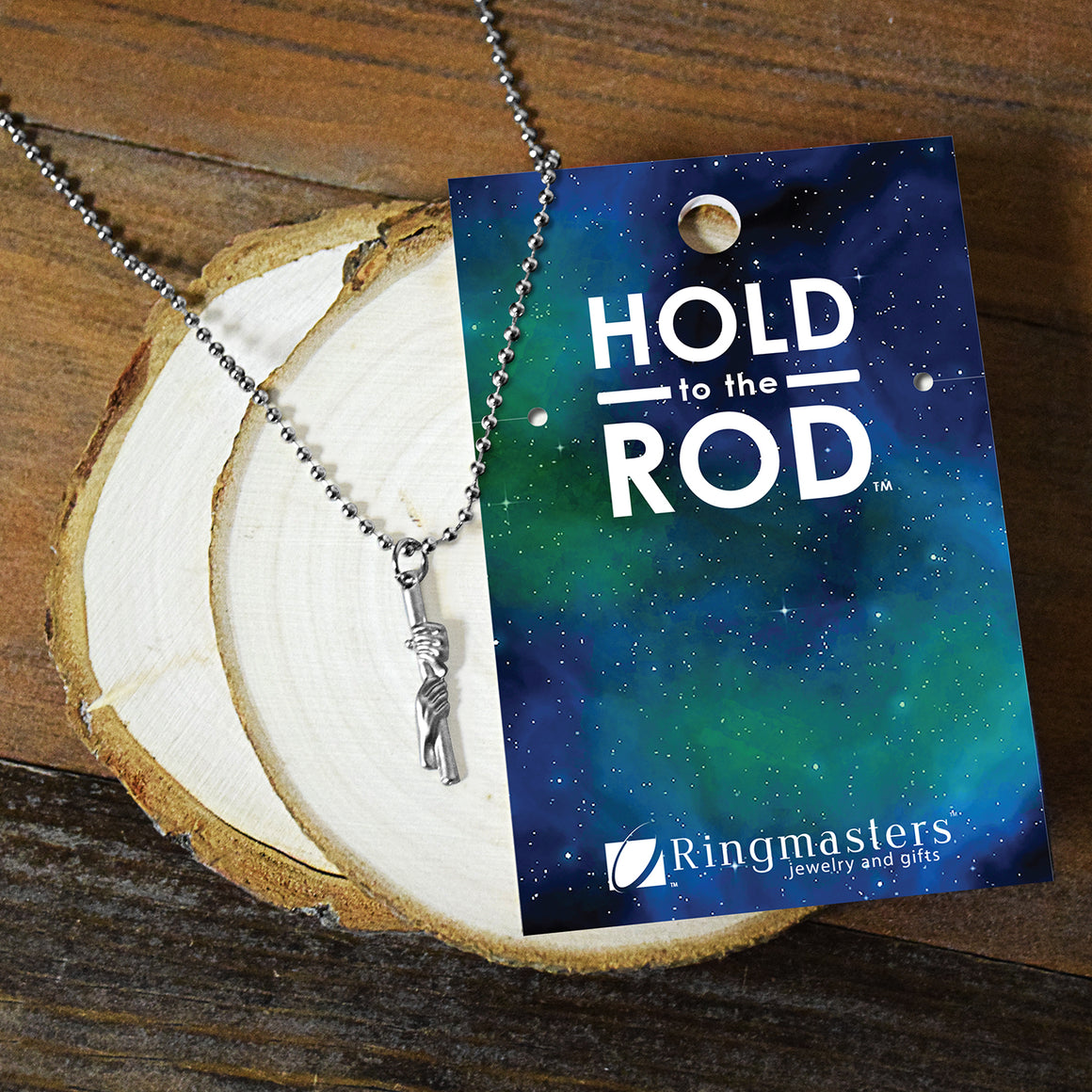 Hold To The Rod dainty Necklace