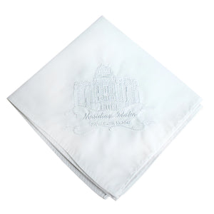 Men's Temple Handkerchief (Click to Select Temple)