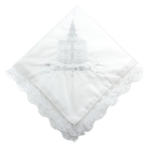 Women's Temple Handkerchief (Click to Select Temple)