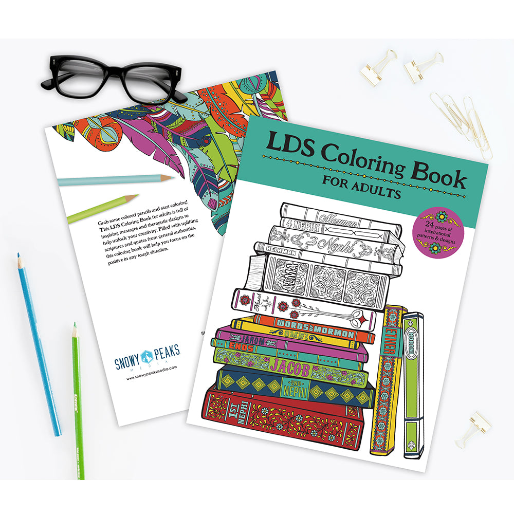 LDS Coloring Book for adults