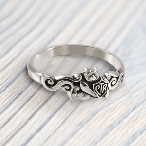 CTR Teddy Bear Ring - Stainless Steel
