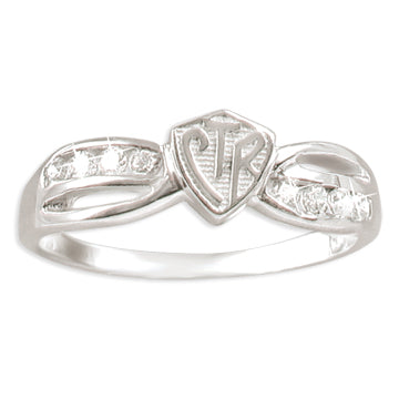 CTR Designer Bow Ring - Serling Silver