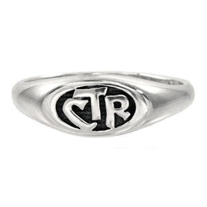 CTR Allegro Antiqued Ring - Sterling Silver
