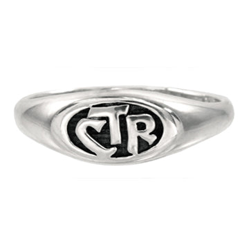 CTR Allegro Antiqued Ring