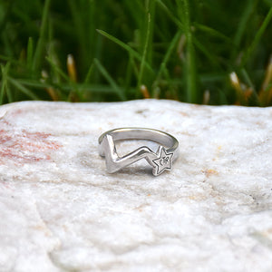 CTR Shooting Star Ring - Stainless Steel