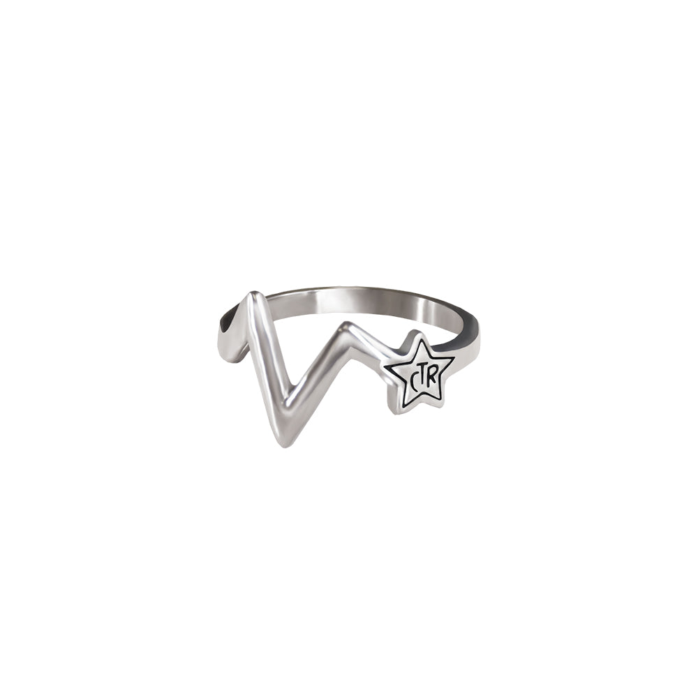 CTR Shooting Star Antiqued Ring