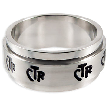 CTR Wide Spinner Ring - Stainless Steel