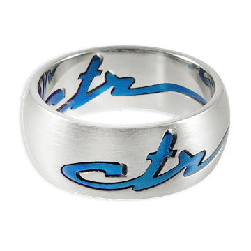 CTR Signature Blue Ring