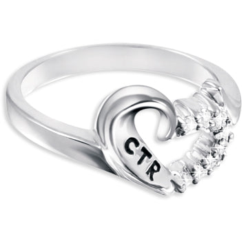 CTR Designer Antiqued Sweetheart Ring