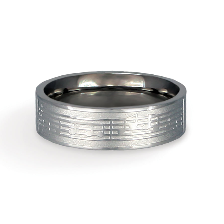CTR Men's Designer Encore Ring - Stainless Steel
