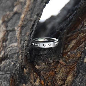 CTR Twinkle Ring - Stainless Steel