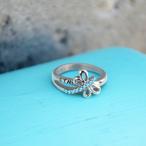 CTR Dragonfly Ring - Stainless Steel