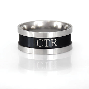 CTR Men's Designer Genesis Ring - Stainless Steel