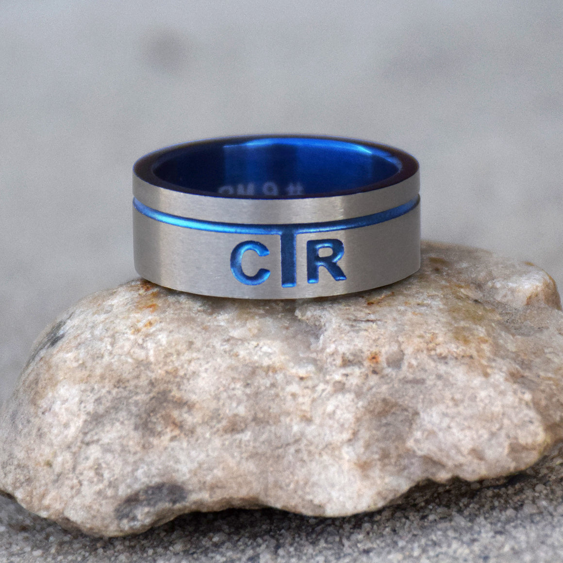 CTR Men's Designer Astro Ring - Stainless Steel